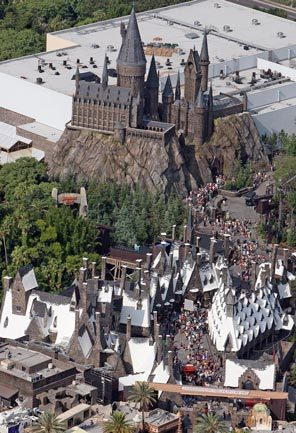 Every day thousands of visitors stream into the Wizarding World of Harry Potter at Universal's Islands of Adventure in Orlando, Fla.