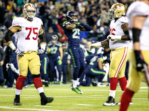 After winning the game Sunday with a great defensive play, Seattle's Richard Sherman decided to send a choking signal toward San Francisco quarterback Colin Kaepernick.