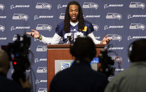 Richard Sherman covered a wide range of questions regarding his postgame rant in his first publiccomments during a news conference Wednesday.