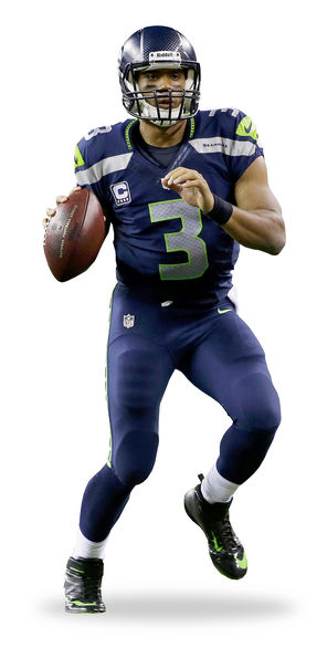 Russell Wilson's ability to maintain a cool demeanor has impressed teammates.