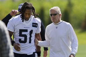 Bruce Irvin came into the NFL with a checkered past, but under the guidance of Seahawks coach Pete Carroll has proved he  was worth the risk.