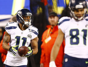 The health of Percy Harvin (11) could play a role in the futures of   Golden Tate (81) and others.