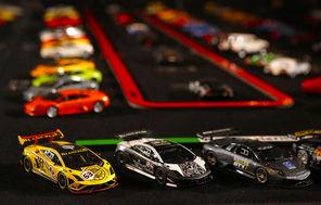 Lamborghini models at the museum represent the history of the legendary Italian cars.