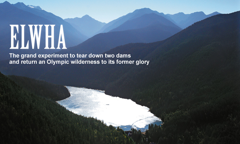 ELWHA The grand experiment to tear down two dams and return an Olympic wilderness to its former glory