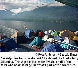 Seattle Times: Klondike Special Report: Alaska ferry Columbia carries a  sense of adventure